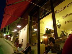"""My favorite restaurant """"Orphee"""" in der """"Unteren Bachgasse"""""""