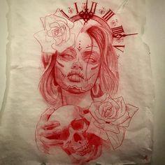 эскиз тату чикано Chicano Art Tattoos, Chicano Drawings, Gangsta Tattoos, Tattoo Design Drawings, Tattoo Sketches, Tattoo Designs, Tattoo Studio, Skull Hand Tattoo, Sugar Skull Tattoos