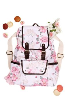 Austen Rose Backpack is here just in time for back to school. xo