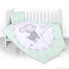 817a7ca9812 LORELLI Спален комплект 3 части Агънцa - резеда - MiniMod Bassinet, Toddler  Bed, Crib