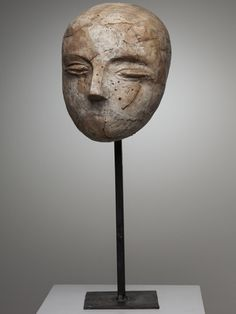 Ivan Kožarić, Glava djevojčice [Girl's Head], 1956.