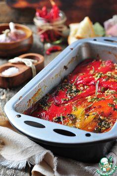 Овощной тьян из баклажанов и болгарского перца - кулинарный рецепт
