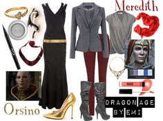 """""""Dragon Age - Meredith and Orsino"""" by emi-watson on Polyvore"""