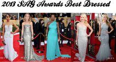"""""""2013 SAG Awards Best Dressed"""" by sunshineitgirl on Polyvore"""