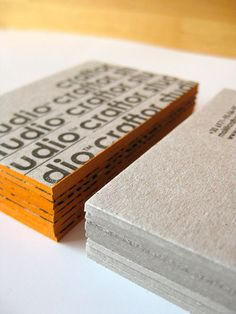 Business Card for: Craftor Studio | The Best of Business Card Design