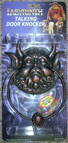 Labyrinth door knockers @Jillian Medford Lee I'm buying this for your new home :) Labyrinth Door Knockers, Labyrinth Movie, Bowie Labyrinth, Labrynth, Last Unicorn, Goblin King, Knobs And Knockers, The Dark Crystal, Jim Henson