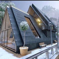 Architecture Durable, Sustainable Architecture, Architecture Design, Pavilion Architecture, Residential Architecture, Contemporary Architecture, Tiny House Cabin, Tiny House Design, Modern House Design