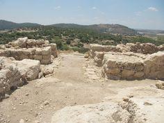An archeology dig in Israel