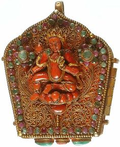 The Goddess Tara talisman    www.exoticindiaart.com