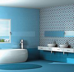 Bagno Piastrelle Azzurro - Risultati Yahoo Italia della ricerca di immagini