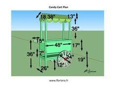 Resultado de imagen de how to make a collapsible candy cart