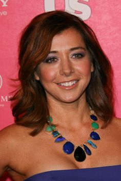 Alyson Hannigan, totally obsessed with her hair color.