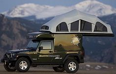 Jeep Camping Gear - Jeep Trailer, Campers and More