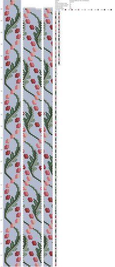 Рисуем схемы для жгутов из бисера, вышивки и др.'s photos