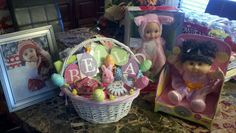 Easter Basket (Before) (Isabella 2012)