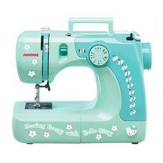 Hello Kitty Sewing Machine - Green (11706)