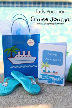 My Cruise Journal - Free Printable from Giggles Galore