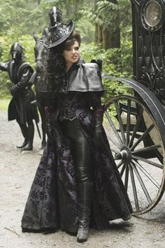OUaT's Regina/evil queen. One of my fave characters, and who I wish I could be for Halloween, especially the hat