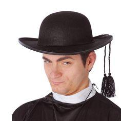Sombrero de Cura #sombrerosdisfraz #accesoriosdisfraz #accesoriosphotocall