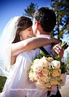Heavenly Lake Tahoe Wedding
