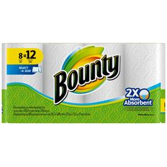 24-Count Bounty Giant Roll Paper Towels  $10 Target Gift Card $23.97  Free Shipping #LavaHot http://www.lavahotdeals.com/us/cheap/24-count-bounty-giant-roll-paper-towels-10/119978