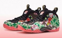 THE SNEAKER ADDICT: Nike Air Foamposite One Chinese New Year Sneaker (...