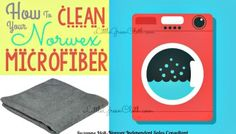 How To Clean your Norwex Microfiber