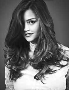 Jenna Louise Coleman. I want her hair. I need her stylist to do my hair every day.