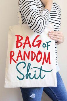 Bag of Random Shit Tote Bag