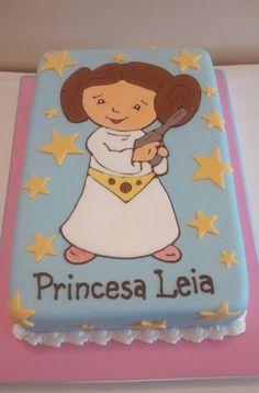 Princess leía cake