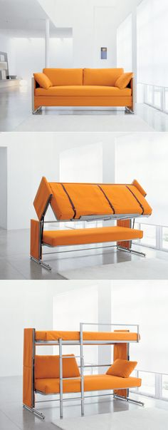 not going to lie this is pretty cool. Convertible furniture. Home decor design
