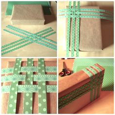 Ideas de envoltorios para regalos.  Ideas packaging DIY. www.kindapaper.com