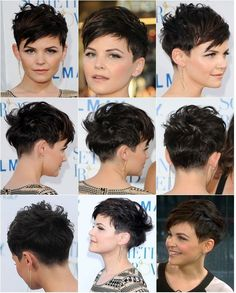 Just did this mosaic of Ginnifer Goodwin, gonna show this to my hairdresser, it&. - hair styles for short hair : Just did this mosaic of Ginnifer Goodwin, gonna show this to my hairdresser, it&. - hair styles for short hair Pixie Haircut For Thick Hair, Short Pixie Haircuts, Long Hair Cuts, Pixie Hairstyles, Long Hair Styles, Pixie Haircut For Round Faces, Haircut Long, Short Hair For Chubby Faces, Short Hair Styles For Round Faces