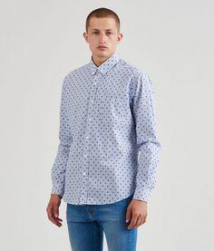 Mads Nørgaard - Shirt, Striped Polka Steam Ss16, Menswear, Shirt Dress, Mens Tops, Shirts, Collection, Dresses, Women, Fashion