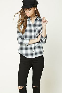 Product Name:Buffalo Plaid Flannel Shirt, Category:Sale, Price:19.9