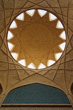 Persian Architecture / DolatAbad Garden , Yazd , IRAN