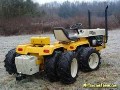 articulated garden tractor - MyTractorForum.com - The Friendliest Tractor Forum and Best Place for Tractor Information