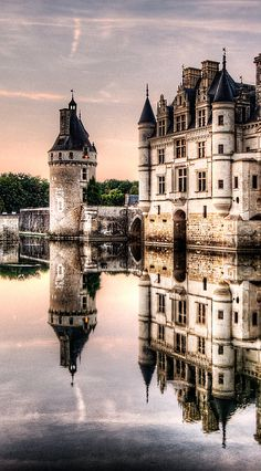 Evening At Chenonceau Castle, France (by Weston Westmoreland)