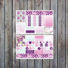 Purple Lilac Mini Kit  59 stickers 230 by BlankSlateStickers