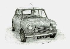 Mini Morris Sketch