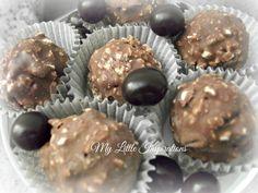Hazelnut and chocolate bonbons recipe @ My Little Inspirations