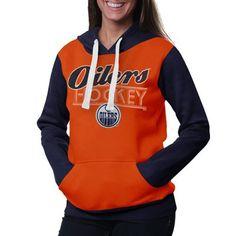 Edmonton Oilers Ladies Divisional Pullover Hoodie