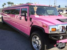 Pink Hummer Limo I found this type of stylish fancy car. Try lots more on this page
