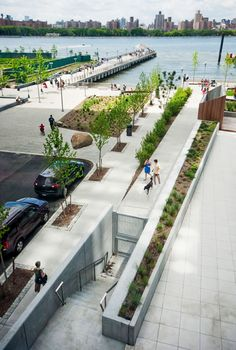 he Edge Park on the Williamsburg Waterfront in New York City by W Architecture & Landscape