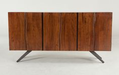 "Home Trends & Design Austin Loft Sideboard 74"", walnut 