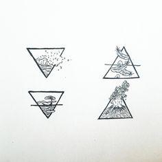 Afbeeldingsresultaat voor tattoo four elements