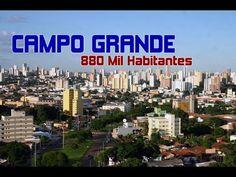 🌎 Mato Grosso do Sul - Top 10 Maiores e Mais Populosas Cidades do Estado...