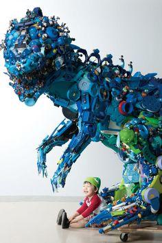 Hiroshi Fuji - Toys Installation