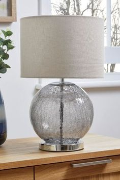 Buy Crackle Touch Table Lamp from the Next UK online shop