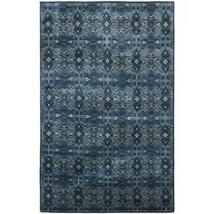 Sheldon - Cape Blue - Hand-Knotted - Floorcovering - Products - Ralph Lauren Home - RalphLaurenHome.com